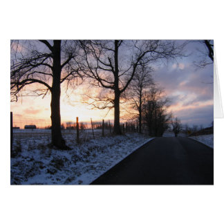 Take me home country roads.... Blank Gift Card