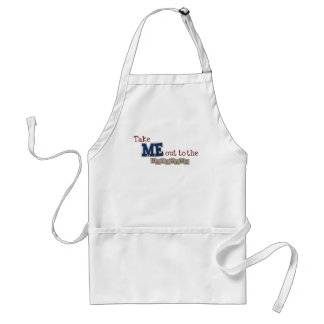 Take me out to the ball game standard apron