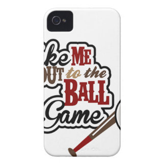 Take Me Out To The Ball Game design iPhone 4 Case-Mate Case