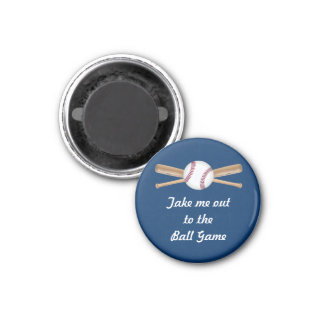 Take Me Out To The Ball Game Magnet
