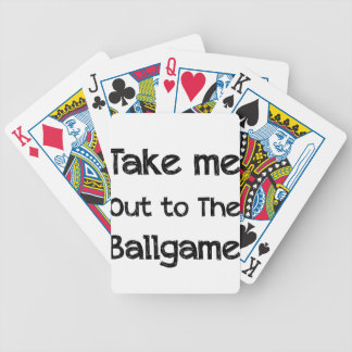Take Me Out To The Ball Game Poker Deck