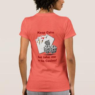 Take me To Casino T-shirts