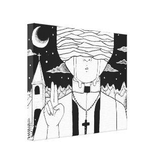 Take me to Church Canvas Print