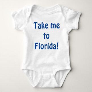 Take me to Florida! Baby Bodysuit
