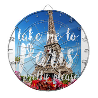 take me to Paris Dart Boards