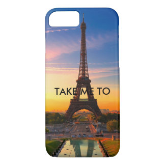 TAKE ME TO PARIS IPHONE CASE