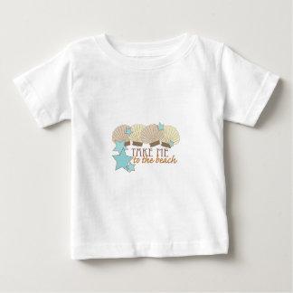 Take Me To The Beach Baby T-Shirt