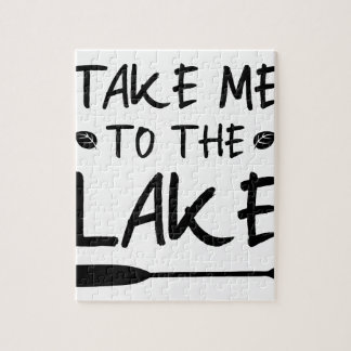 Take Me To The Lake Jigsaw Puzzle