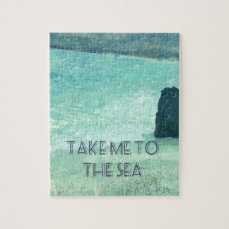 Take Me To The Sea quote Puzzle