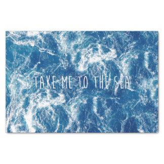 Take me to the sea tissue paper