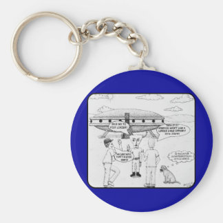 Take Me To Your Leader Basic Round Button Key Ring