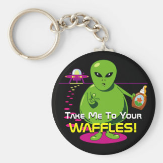 Take Me To Your Waffles! Key Chain
