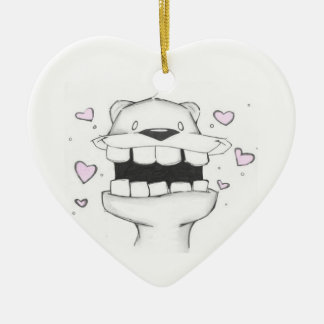 take my breath away valentine ornament