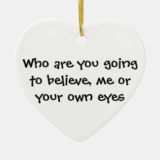 Take my heart ceramic heart decoration