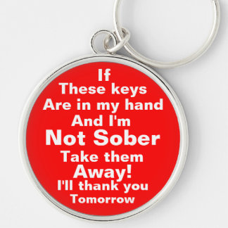 Take my keys please key ring