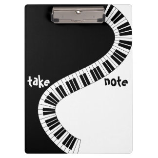 """Take Note"" Musical Clipboard"
