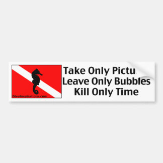 Take Only Pictures Bumper Sticker