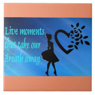 Take our Breath Away Ceramic Tile