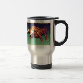 Take The Bull by the Horns Stainless Steel Travel Mug