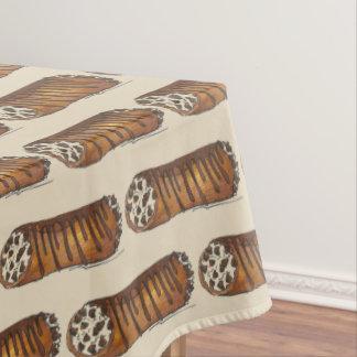 Take the Cannoli Italian Chocolate Chip Dessert Tablecloth