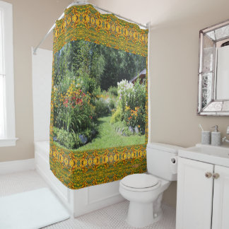 Take The Cottage Garden Path! Shower Curtain