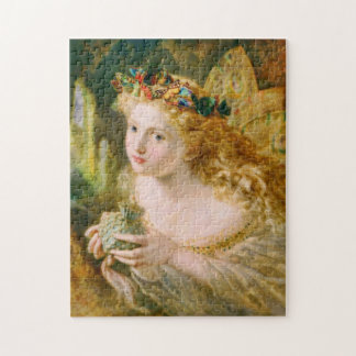 Take the Fair Face of Woman Victorian Fine Art Jigsaw Puzzle