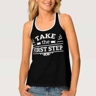 Take The First Step Singlet