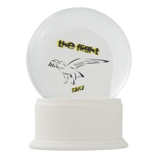 Take, THE flight Snow Globe