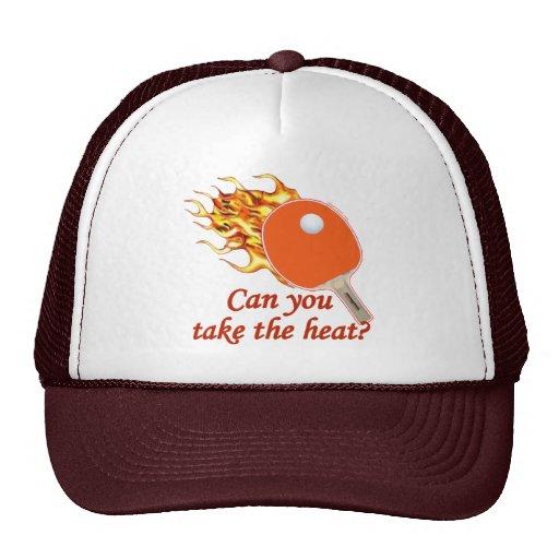 Take the Heat Flaming Ping Pong Mesh Hat