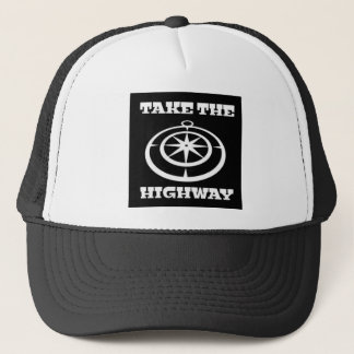 Take The Highway Trucker Hat