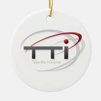 Take the Initiative Christmas Tree Ornament