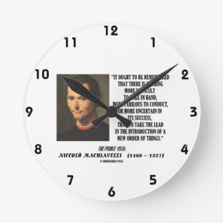 Take The Lead In Introduction New Order Of Things Round Clock