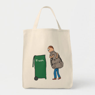 Take The Rubbish Out Tote Bag