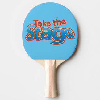 Take the Stage Ping Pong Paddle