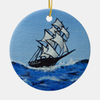 Take the Waves Christmas Ornaments