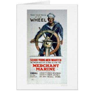 Take the Wheel - Merchant Marine (US02058) Card