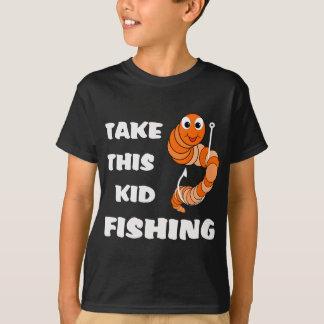 Take This Kid Fishing Dark T-Shirt