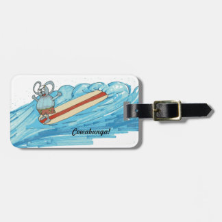 Take this luggage tag with you when you travel