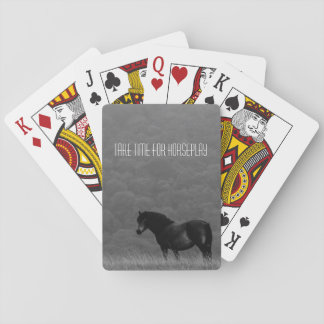 Take Time for Horseplay - Playing Cards