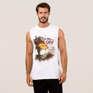 Take Time Off Ultra Cotton Sleeveless T-Shirt