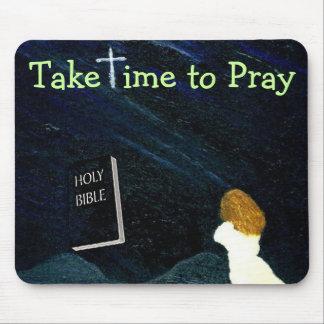 Take time to Pray mousepad
