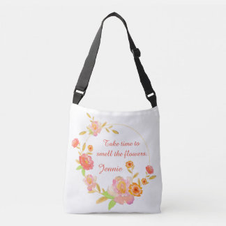 Take Time To Smell The Flowers Bag