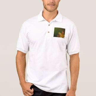 Take time to smell the flowers polo shirt