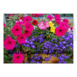 Take time to stop and smell the flowers! greeting cards