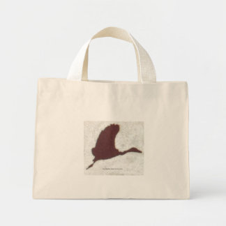 Take Us Home Bird, by Heather Marie Davis Jones Mini Tote Bag