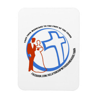 Take your marriage to the foot of the cross magnet