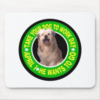 TAKE YOUR NEARDIE TO WORK DAY MOUSE PAD