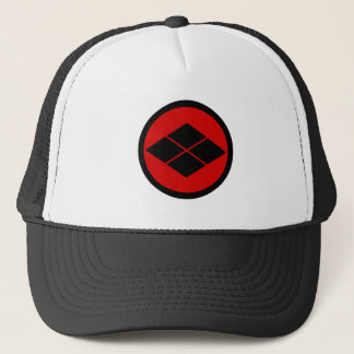 Takeda kamon Japanese samurai clan Trucker Hat