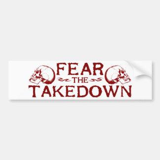 Takedown Bumper Sticker