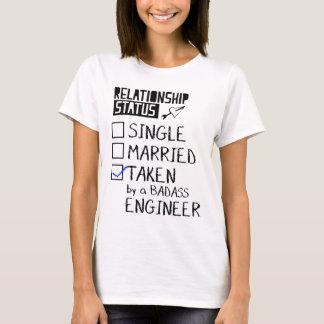 Taken By a Badass Engineer T-Shirt